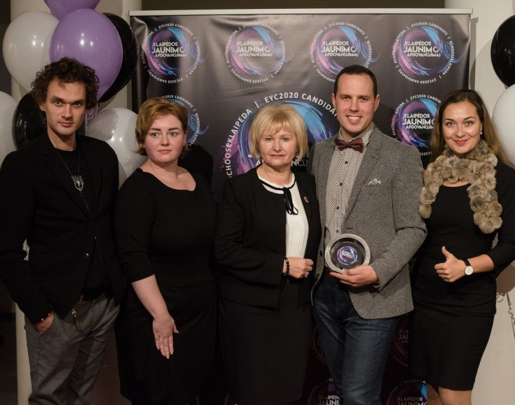 Klaipėdos socialdemokratai triumfavo jaunimo apdovanojimuose