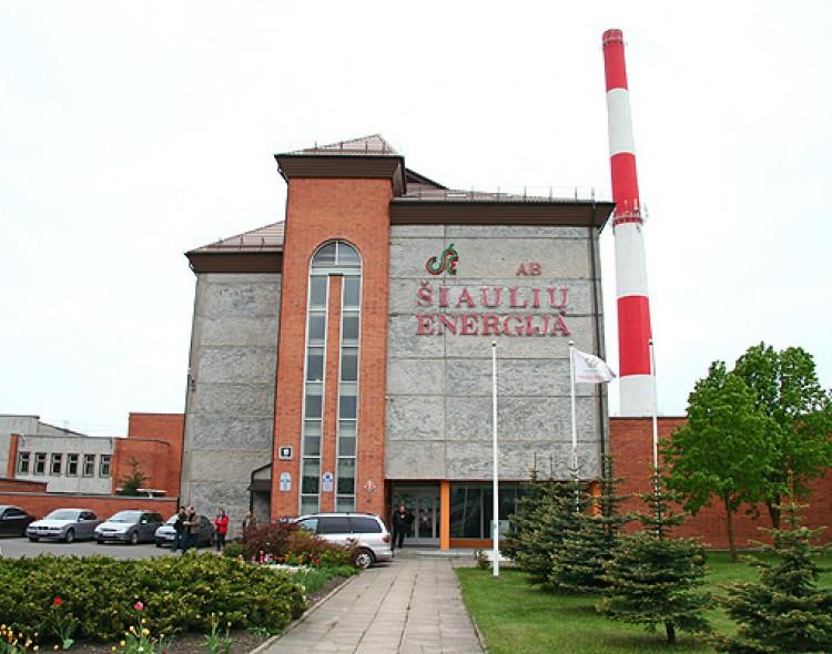 """Socialdemokratų frakcija lankėsi AB """"Šiaulių energija"""""""