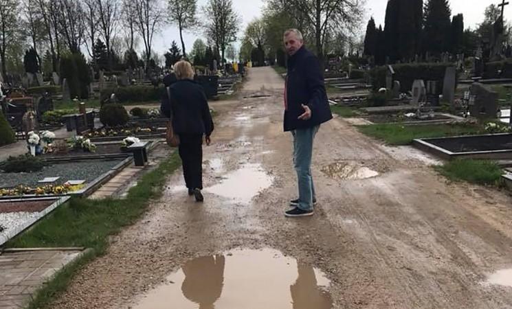 Ginkūnų kapinėse nemaža spręstinų problemų