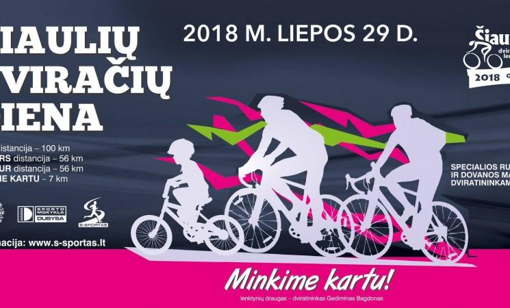 Dalyvaukime Šiaulių dviračių dienoje