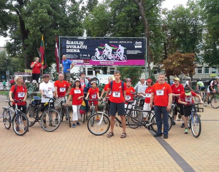 Socialdemokratai Šiaulių dviračių dienoje