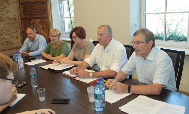 Įvyko socialdemokratų frakcijos spaudos konferencija
