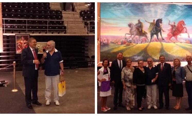 Lietuvos 100-mečiui – armėnų dailininko paveikslas