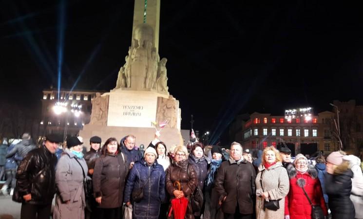 Šiaulių socialdemokratai Latvijos nepriklausomybės šimtmečio renginiuose