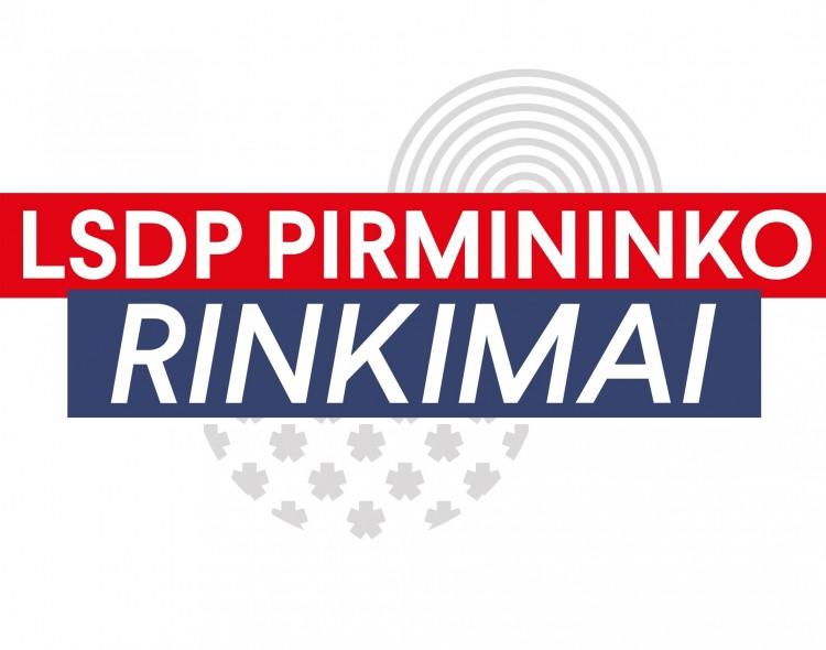 Prasideda tiesioginiai Socialdemokratų partijos pirmininko rinkimai