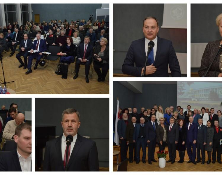 Pristatyta rinkimų programa ir kandidatai į mero pareigas, miesto tarybą