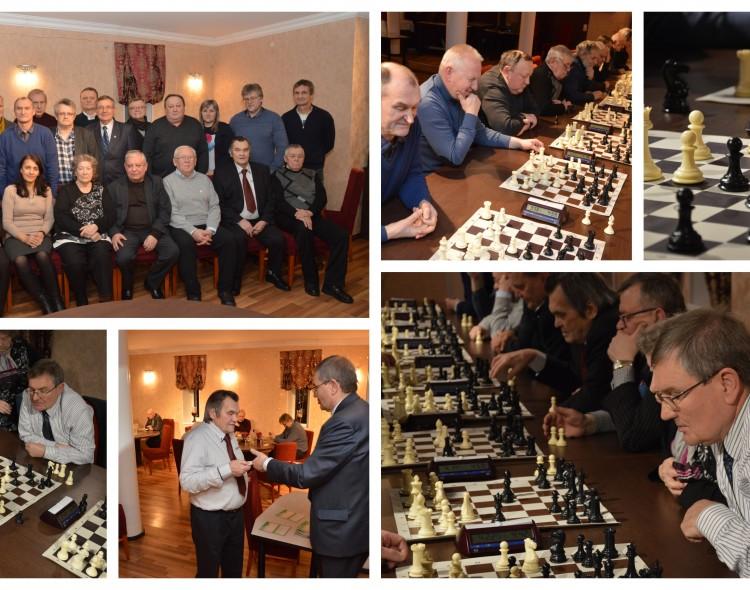 Justinas Sartauskas jau 10-tą kartą organizavo Šiaulių veteranams šachmatų varžybas!