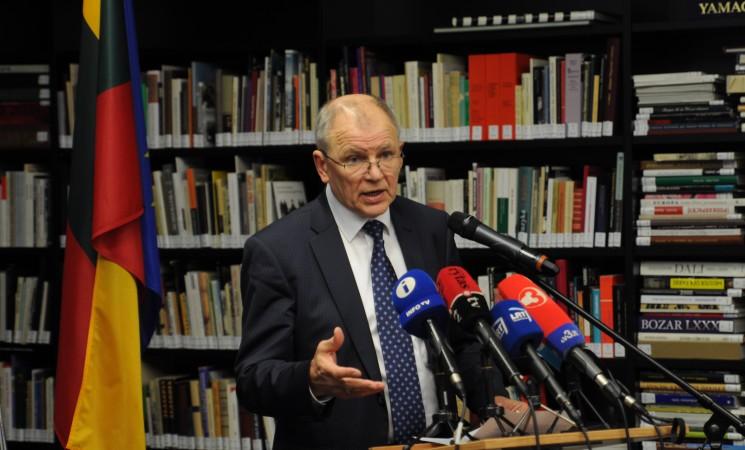Vytenis Andriukaitis. Ar rusai kelia grėsmę Lietuvai? Ne. V. Putino režimas – taip.