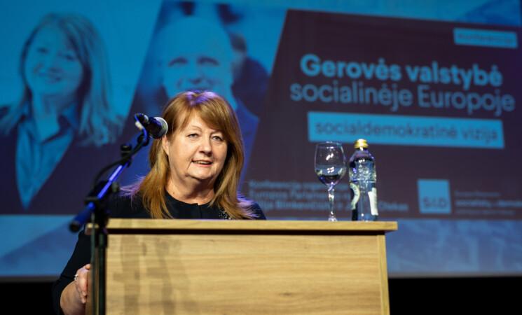 Vilija Blinkevičiūtė. Europa laiko svarbiausią – solidarumo – egzaminą