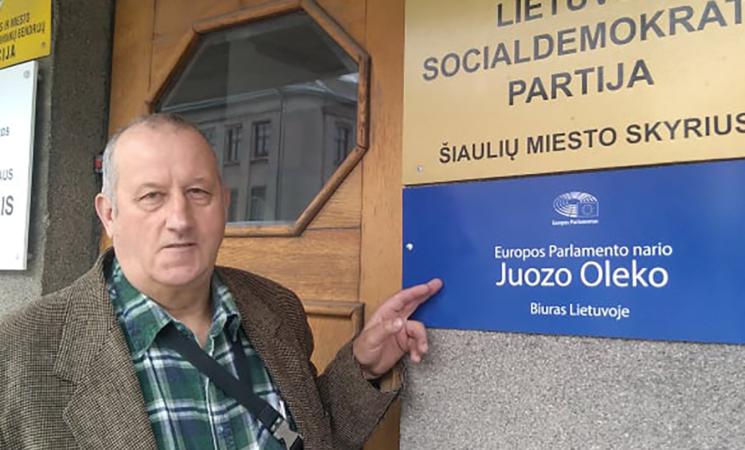 Šiauliuose atidaromas Juozo Oleko biuras Lietuvoje