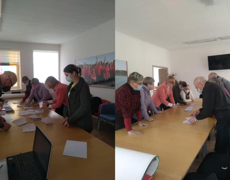Šiaulių miesto skyriaus balsavimo rezultatai
